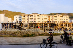 construction site (jonas_k) Tags: travel northkorea pyongyang dprk pjöngjang