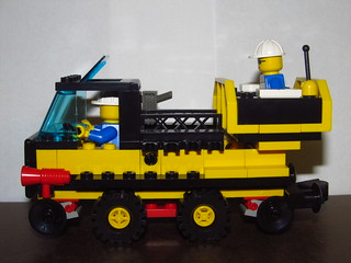 LEGO 4541 Rail and Road Service Truck 1