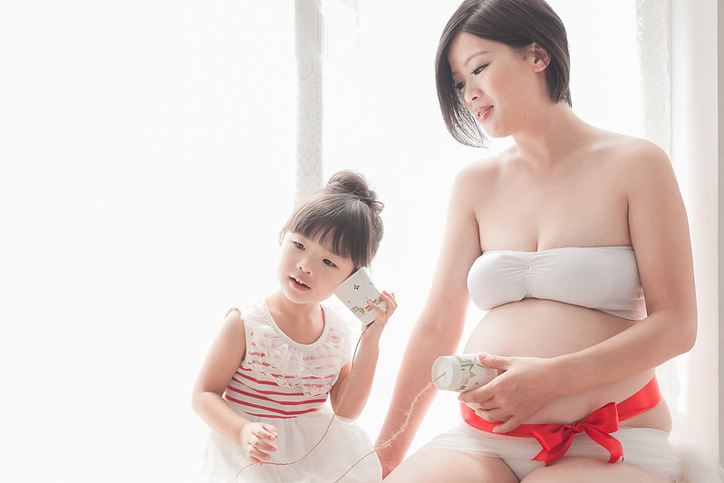孕婦寫真 親子 全家福 台中 中壢 桃園 女攝影師 C+ Vision 小米 米維他 全裸