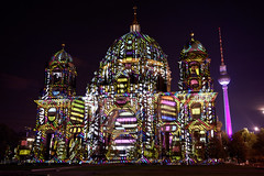 Berliner Dom (mattrkeyworth) Tags: berlin night zeiss germany deutschland nacht nuit festivaloflights berlinerdom a7r nightset mattrkeyworth sonya7r sel35f28z ilce7r sonnartfe2835