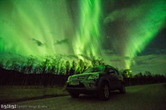 _DSC1088.jpg (lingvaldsen) Tags: norway northernlights auroraborealis saltdal nordlys hondacrv northernlight tokina1116