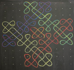 5th Grade: Math; Kolam (ArneKaiser) Tags: chalk edited waldorf 5thgrade chalkboard kolam chalkdrawings autoimport boarddrawings pineforestschool mrkaisersclass