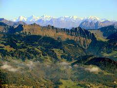 Layers (oobwoodman) Tags: mountains alps montagne alpes schweiz switzerland suisse aerial berge alpen eiger jungfrau vaud mnch berneroberland luftaufnahme aerien waadt