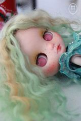 My Custom Commissions Middie Blythe Doll.