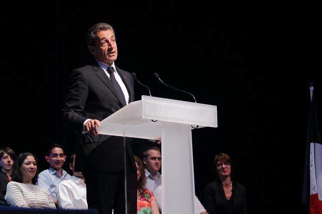 Réunion de Nicolas Sarkozy à Toulon