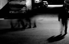 The night crawler (Munim Shahriar) Tags: street shadow night 35mm dark strangers trippy nightwalk passers balcova d5200