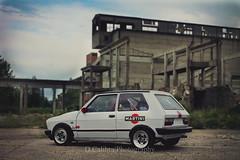 Yugo Martini Racing (Dragan Calibra) Tags: car low serbia martini racing tuning yugo srbija lostreetlifevol4