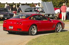 Ferrari 575M (Thumpr455) Tags: auto red car italian nikon october automobile southcarolina ferrari exotic d800 greer v12 575m 2014 euroautofest worldcars afnikkor80200mmf28d