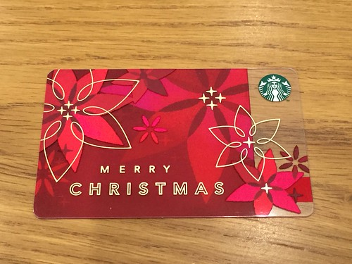 Starbucks Card Christmas 2014