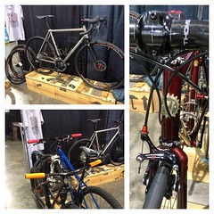 Awesome first day at the @phillybikeexpo #weavercycleworks #custombicycles #phillybikeexpo2014