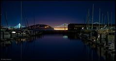 Distant Bay Bridge (salar hassani) Tags: nov bridge bay san francisco distant 2014