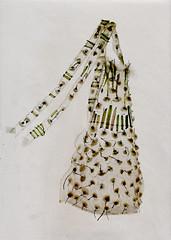 Lwenzahn-Schrze * Dandelion Apron (Beatrice Oettinger) Tags: art dandelion jewellery apron textile lwenzahn schrze textilkunst
