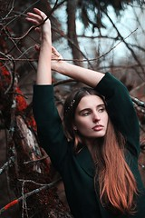 (Vladaspring) Tags: portrait nature forest canon women canonef50mmf18 beautifull canonef50mm canon60d
