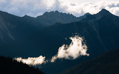 Drift... Drift Away... (John Westrock) Tags: mountains nature clouds landscape outdoors scenic pacificnorthwest washingtonstate mtrainiernationalpark canon135mmf2lusm canoneos5dmarkiii