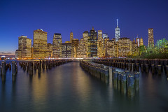 Downtown Manhattan, New York City, USA. (pedro lastra) Tags: sony a7r zeiss night photography newyorkcity skyline architecture city building skyscraper dusk outdoor