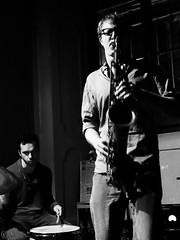 Hobby Horse @ Zingar Jazz (lorenzog.) Tags: bw italy music club nikon live jazz hobbyhorse faenza 2014 d300 dankinzelman zingar