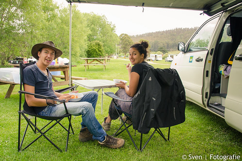 Camping at Mole Creek