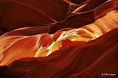 Upper Antelope Canyon (pandt) Tags: light shadow arizona orange southwest texture yellow dark landscape amazing sandstone outdoor vivid surreal canyon sharp page antelope navajo slot twop