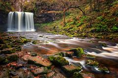 Ystradfellte Waterfalls (Geoff Moore UK) Tags: landscape waterfalls woodland forest longexsposure water movemenr hiking adventure journey exploration