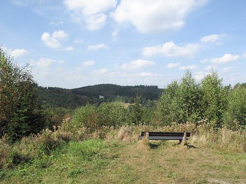 Uitzicht bij Wolfsplatz