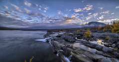 Rapids (Kari Siren) Tags: rapid river lake mountain laponia sweden wilderness laowa 15mm