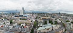 Frankfurt am Main - Stadtpanorama vom Domturm, Blickrichtung Norden (CocoChantre) Tags: deutschland dom domturm europa fernsehturm frankfurtammain hessen hochhaus myzeil nextower panorama welt zeil de