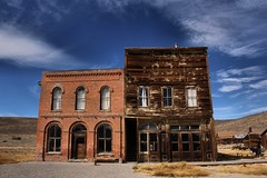 Downtown Bodie (SolanoSnapper) Tags: bodie bodiecalifornia bodieshp ioof