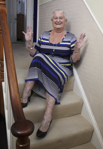 Frocks on the stairs 81/1.