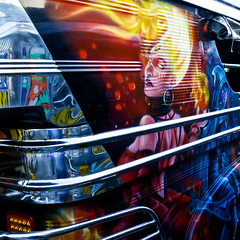 Jeepney (22) (momentspause) Tags: ricoh ricohgr manila philippines jeepney travel vehicle painting