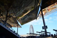 Mercat dels Encants, Barcelona, Catalonia, Spain (marc.desbordes) Tags: barcelona barcelone mercatdelsencants torreagbar