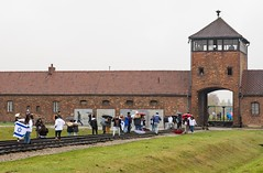 Israeli students at Auschwitz-Birkenau (dgmann11) Tags: poland krakow
