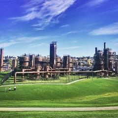 Gas Works Park (Mark Verner) Tags: lakeunion seattle gasworkspark