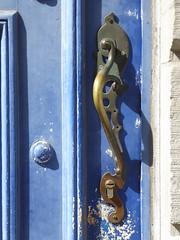 Art nouveau door handle (seikinsou) Tags: brussels belgium bruxelles belgique summer architecture detail artnouveau doorhandle door handle lock