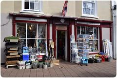 Devon Doors (4) Revisited (GIIBRG) Tags: forkhandles fourcandles hardwarestore tworonnies teignmouth devon