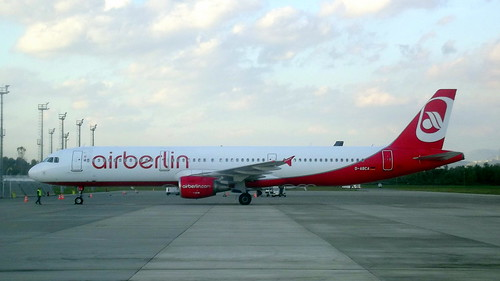 Airbus A321-211 c/n 3708 Air Berlin registration D-ABCA