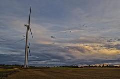 Behemoths (Paul B0udreau) Tags: nikkor1855mm photoshop canada ontario paulboudreauphotography niagara d5100 nikon nikond5100 raw windturbines
