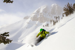 Ski-Powder-09 (SNOW OPERADORA) Tags: 50th backcountry brycenewcomb codypeak jacksonhole jacksonholemountainresort powder skiing snow sundog winter winter1516