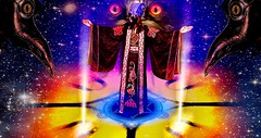 Demon Owl (Josh100Lubu) Tags: josh100lubu lamat771 lamatology lamat occult occultism magick magician sorcery sorcerer demon devil lordjoshallen surreal surrealism