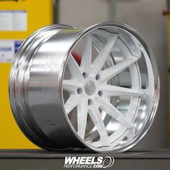 Vossen x Work Series VWS-1 (WheelsPerformance) Tags: wheelsperformance wheels wheelsp wheelsperformancecom wheelsgram vossen vossenwheels workwheels madeinjapan glooswhite polished teamvossen