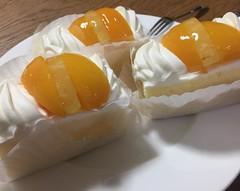 今日の戦利品。 長崎名物シースクリーム。 和田アキ子が初めて食べてたやつ。  Today's booty. Nagasaki specialty sheath cream. Akiko Wada had to eat for the first time.  #長崎 #梅月堂 #シースクリーム #初めて食べた #普通にうまい