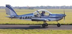 Evektor EV-97 EuroStar G-LBAC Lee on Solent Airfield 2016 (SupaSmokey) Tags: evektor ev97 eurostar glbac lee solent airfield 2016
