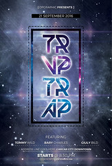 Trvp Trap Flyer PSD (DesignerwooArt) Tags: 300dpi 3d abstract advertising alien alternative artwork bass broken city cmyk design dj dope download drum electro event fest festival flyer free future futuristic galaxies galaxy geometry high hiphop house invitation man manipulation minimal minimalist minimalistic modern music party photoshop poster print psd rap rock sky smoke sound sounds space tech techno template trap triangle triangles trippy universe urban dubstep geometrix art hipster robot