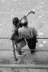 Selfie (alopecosa) Tags: kapellbrücke reuss selfie street