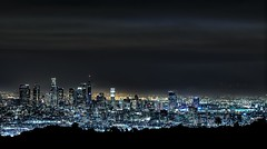Los Angeles Skyline 11/26/16 (Dave Kehs) Tags: laskyline losangeles los angeles dave kehs bingham canon 5d 1635 night hdr longexposure photomatix city scape crispt november 2016