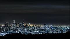 Los Angeles Skyline 11/26/16 (Dave Kehs) Tags: laskyline losangeles los angeles dave kehs bingham canon 5d 1635 night hdr longexposure photomatix city scape crispt november 2016