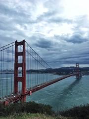 San Francisco Golden Gate Bridge Bridge No People Architecture Suspension Bridge Cloud - Sky Water Nature Travel Destinations Sky at Golden Gate Bridge (stphaniebasoli) Tags: sanfrancisco goldengatebridge bridge nopeople architecture suspensionbridge cloudsky water nature traveldestinations sky