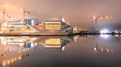 Operaen i Oslo (Mr_Buddis) Tags: operaen opera oslo long exposure longexposure nikon sigma 1835 sigmaart sigma1835 water reflection waterreflection