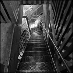 - Tbingen - (HORB-52) Tags: tbingen badenwrttemberg berndsontheimer kirche kirchturm eglise curch treppe