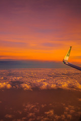 Kissing the Sky (ZaIGHaM-IslaM) Tags: fly airblue pakistan mountains indianocion sunset sky sirblue flight zagham wssa zumi international window