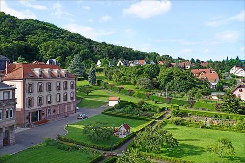 La Maison-Mère de la Congrégation des soeurs du Très Saint Sauveur (Oberbronn, Alsace)